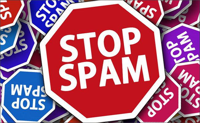 スパムメール禁止