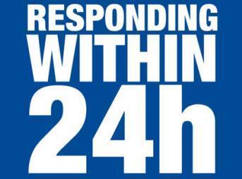 サポート対応 24時間以内