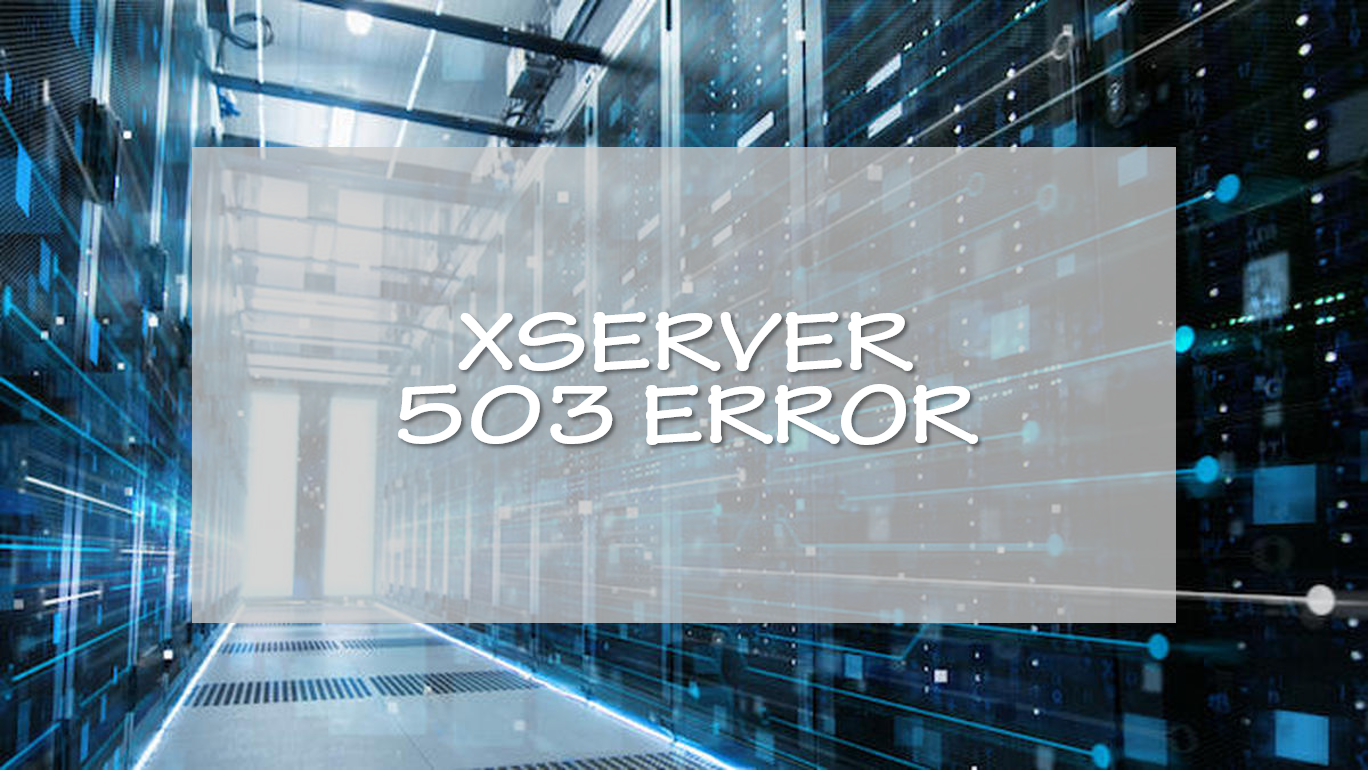 XSERVER 503